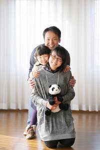 M様の家族写真