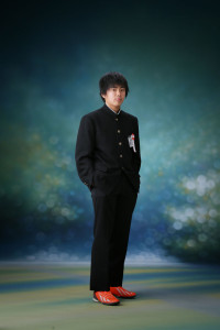 H様の卒業記念写真