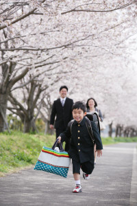 K様の入学記念写真