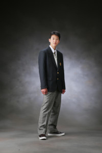 Y様の入学記念写真