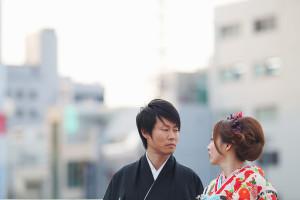 結婚写真作品撮り3