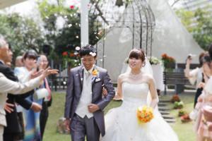 結婚式スナップ写真2