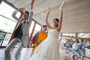 結婚式スナップ写真4