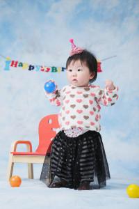 N様の一歳のお誕生写真