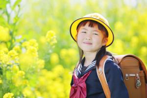 入学記念写真「菜の花ロケ」S様のサンプルフォト3
