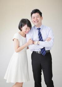 U様の初々しい結婚1周年記念写真