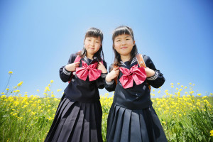春のキャンペーン、入学写真