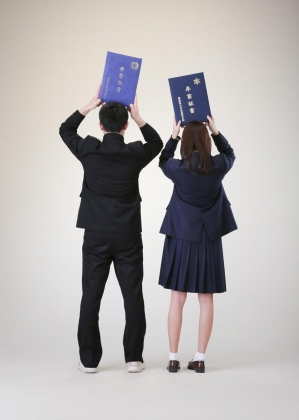 卒業写真サンプルフォト3